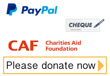 Donations can be made online via the Charities Aid Foundation website.
